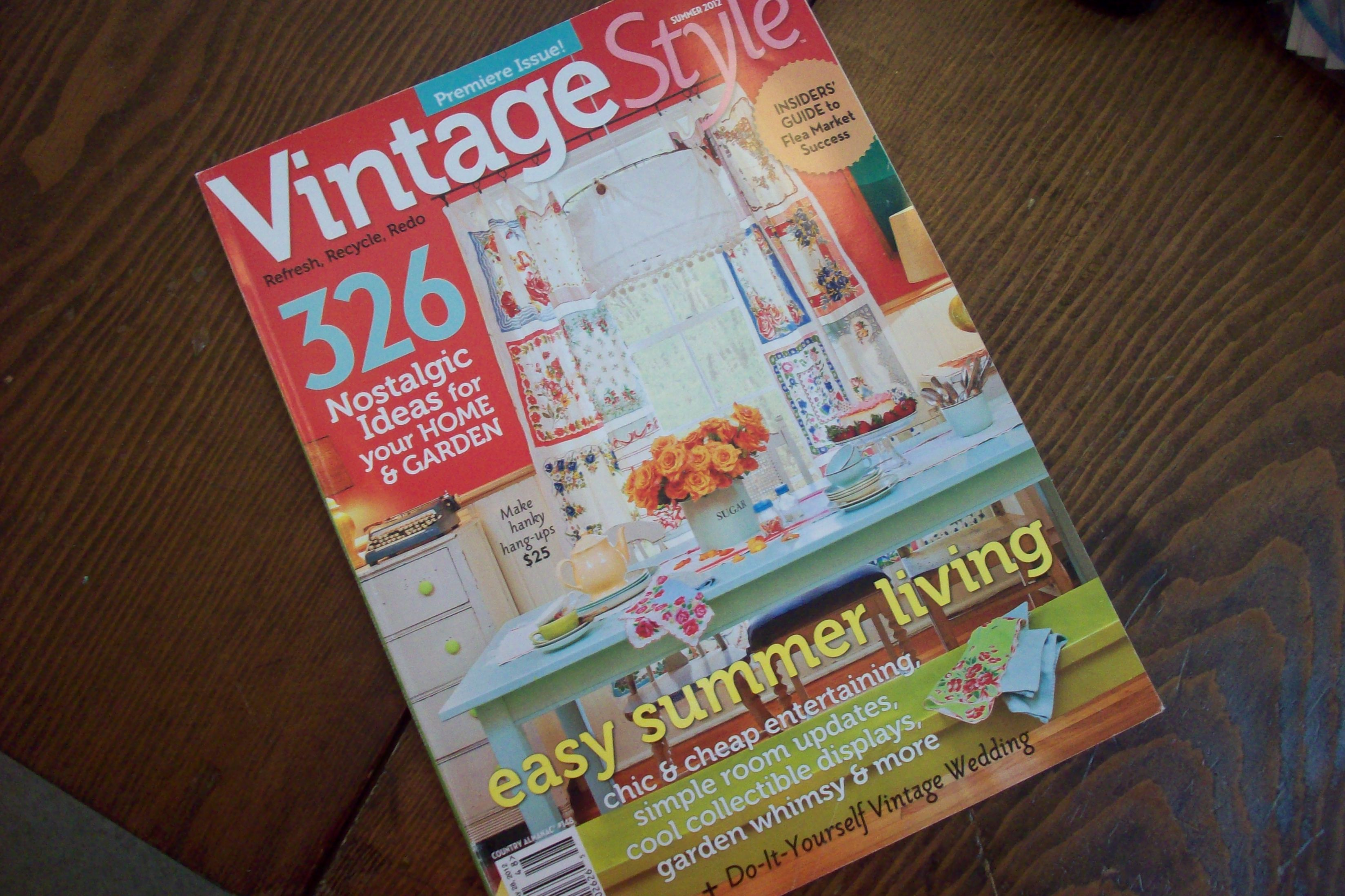 Get Vintage Style Magazine Here! | Finders Keepers Antique Mall