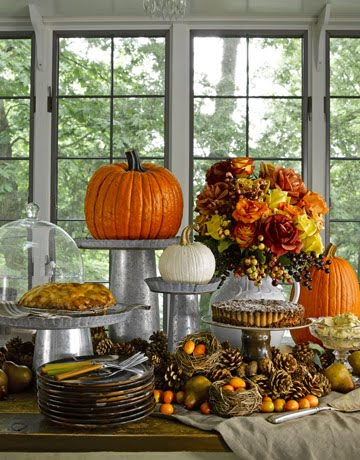 fall table 5 - country living