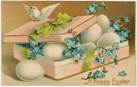 easter greetings rabbits