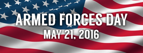 armed forces day banner 2016