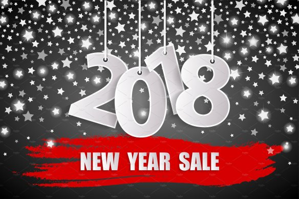 new year 2018 sales