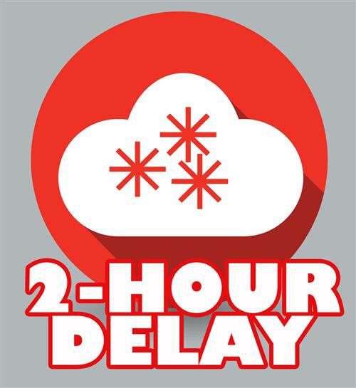2 hour delay opening