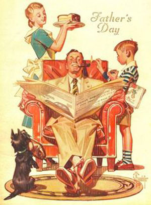 fathers-day rockwell