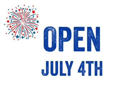 open july 4th