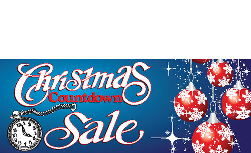 countdown christmas banner